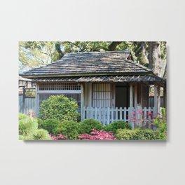 Japanese Tea House Metal Print