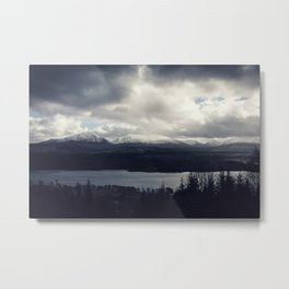 Late Winter in the Trossachs Metal Print