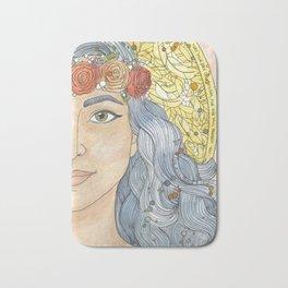 Lady Wisdom (Sophia) Bath Mat