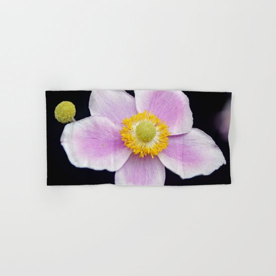 Pink wild rose Hand & Bath Towel