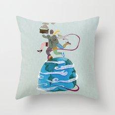 Fuga - Escape Throw Pillow