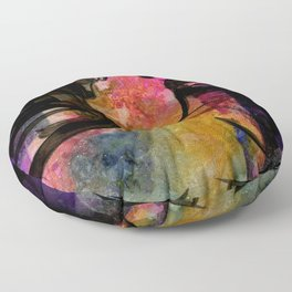 Breath Of The Goddess by Kathy Morton Stanion Floor Pillow