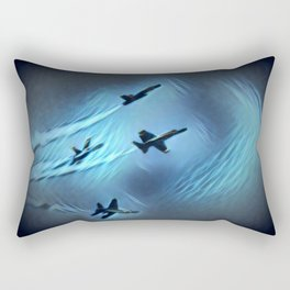 flight of angels Rectangular Pillow