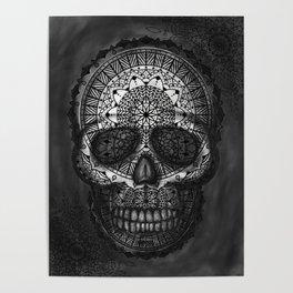 Caveira Mandala Poster
