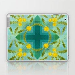 Dandelions in the sky Laptop & iPad Skin