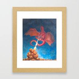 Chrysophylax Framed Art Print
