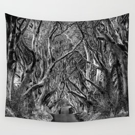 Avenue of trees Wall Tapestry
