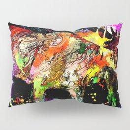 Moose Grunge Pillow Sham