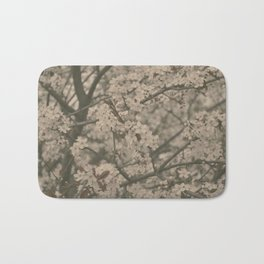 Pastel Flowers Bath Mat