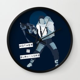 Mother of survivors Wall Clock