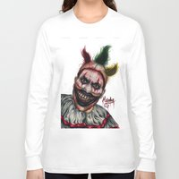 ahs Long Sleeve T-shirts featuring Twisty-AHS No.2 by MELCHOMM