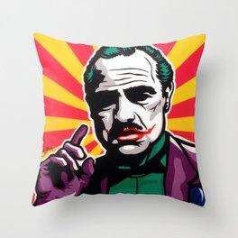 The JokeFather Throw Pillow