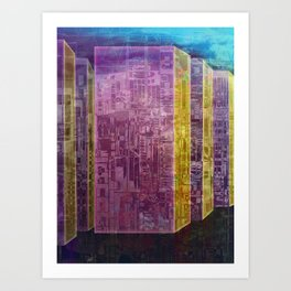 Blocks / Urban Art Print