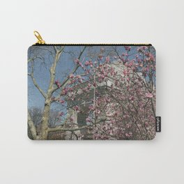 Washington Square Park. Spring Flowers. Carry-All Pouch