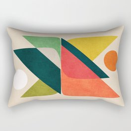 Reflection (of time and space) Rectangular Pillow