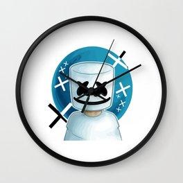 marshmello vectorized Wall Clock