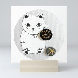Lucky and Kawaii Mini Art Print