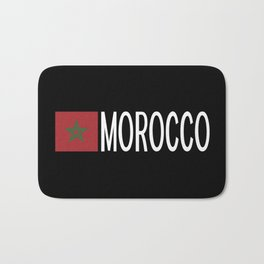 Morocco: Moroccan Flag & Morocco Bath Mat