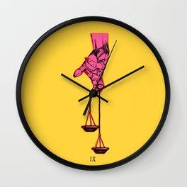 Justiva IX Wall Clock