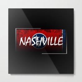 Nashville Metal Print