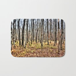 Fall in the Woods Bath Mat