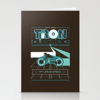 tron Stationery Cards featuring Tron Legacy by HomePosters