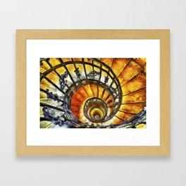 Spiral Staircase Van Gogh Framed Art Print