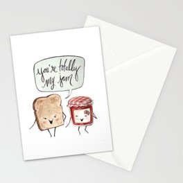 You're My Jam Stationery Cards