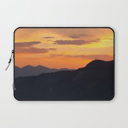 Mountain Sunset III (Big Bear Lake, California) Laptop Sleeve