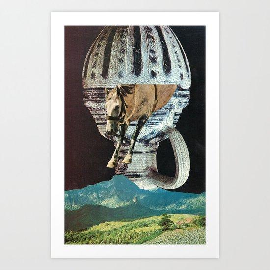the great leap forward Art Print