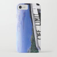 philippines iPhone & iPod Cases featuring OFF LIMIT (Philippines) by Julie Maxwell