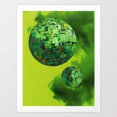 Nano-Universe  10-07-16 Art Print