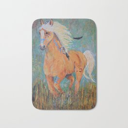 """Running Free"" Bath Mat"