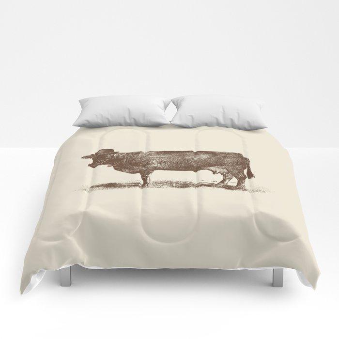 Cow Cow Nut #1 Comforters