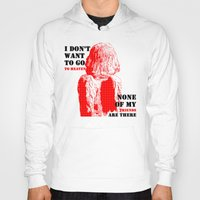 oscar wilde Hoodies featuring Oscar Wilde #7 I don't want to go to heaven by bravo la fourmi