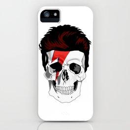 Aladdin Sane Skull iPhone Case