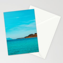 Some mountains in the sea Stationery Cards
