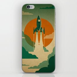 The Voyage (Green) iPhone Skin