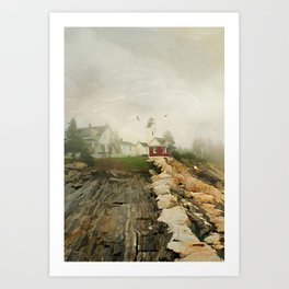 A Morning in Maine Art Print