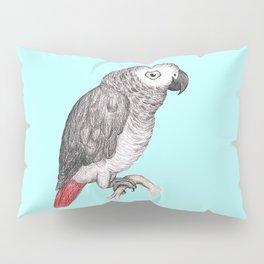 Cute African grey parrot Pillow Sham