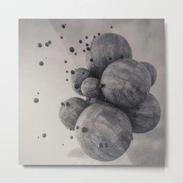 1% - Concrete  Metal Print