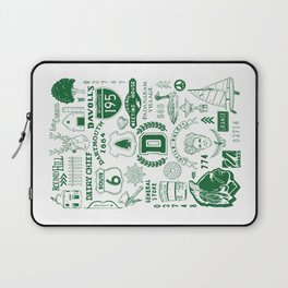 Dartmouth Massachusetts Print Laptop Sleeve
