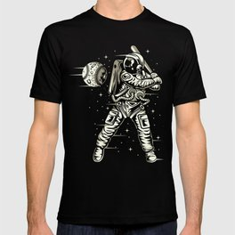 Space Baseball Astronaut T-shirt