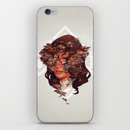 Medusoid mycelium iPhone Skin