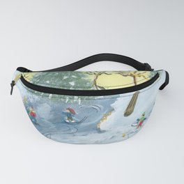 Ice Skaters Fanny Pack