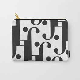 "Musical - The Didot ""j"" Project Carry-All Pouch"