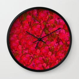 August Color Wall Clock