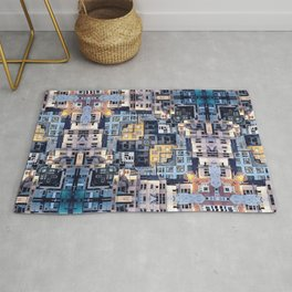 Community of Cubicles Rug