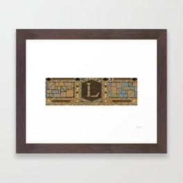Lorimer Avenue Framed Art Print