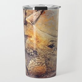 Rhinoceros Travel Mug